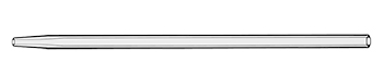 Tapered Quartz Injector 1.5mm